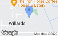Map of Willards, MD