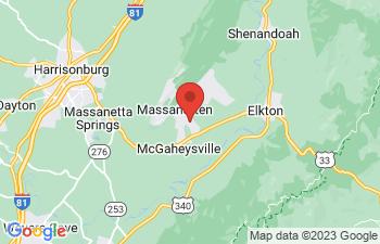 Map of Mcgaheysville