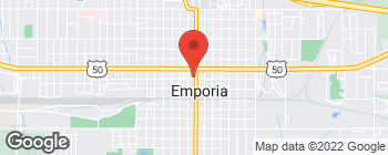 Map of 503 Commercial St in Emporia