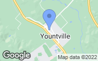 Map of Yountville, CA