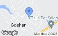 Map of Goshen, KY