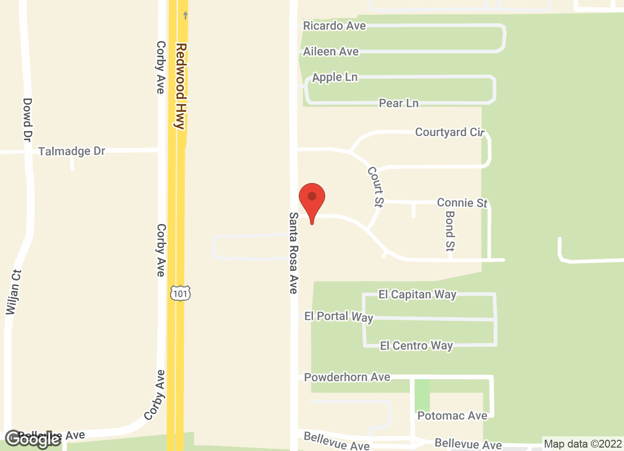 Google Map of VCA Sequoia Valley Animal Hospital