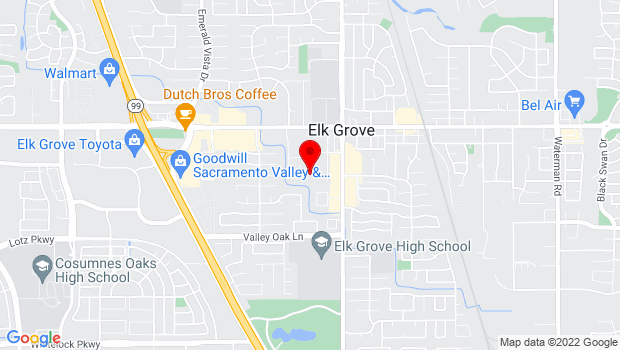 Google Map of 8840 Southside Ave., Elk Grove, CA 95624