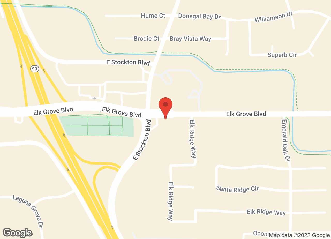 Google Map of VCA Elk Grove Animal Hospital