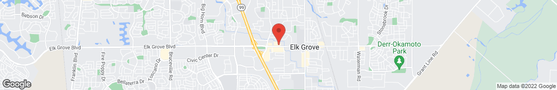 Map of 8707 Elk Grove Blvd in Elk Grove