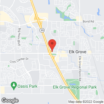 Map of Arby's at 8511 Elk Grove Blvd., Elk Grove, CA 95624