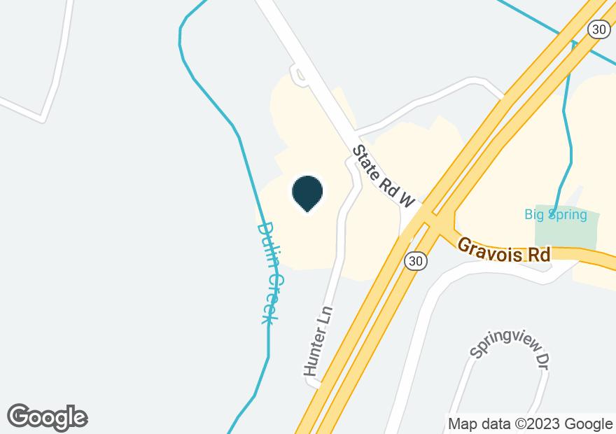 Google Map of4535 HUNTER LN