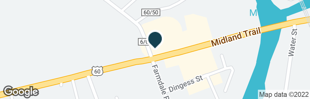 Google Map of6414 US ROUTE 60 E