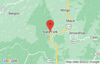 Map of Slatyfork