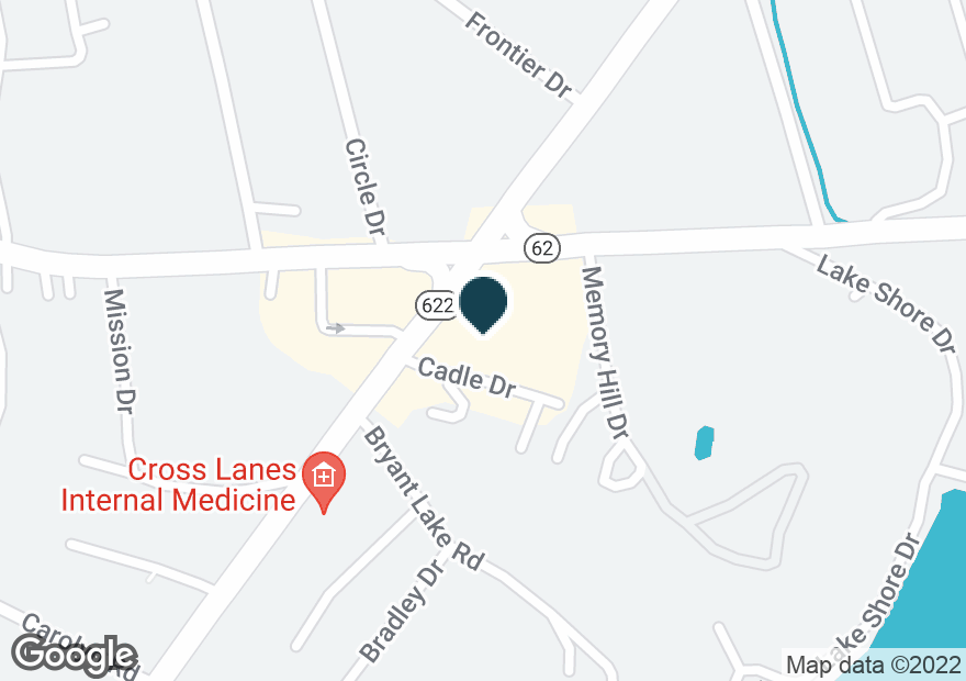 Google Map of101 GOFF MOUNTAIN RD
