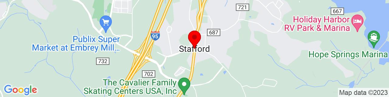 Google Map of 38.4220687, -77.4083086