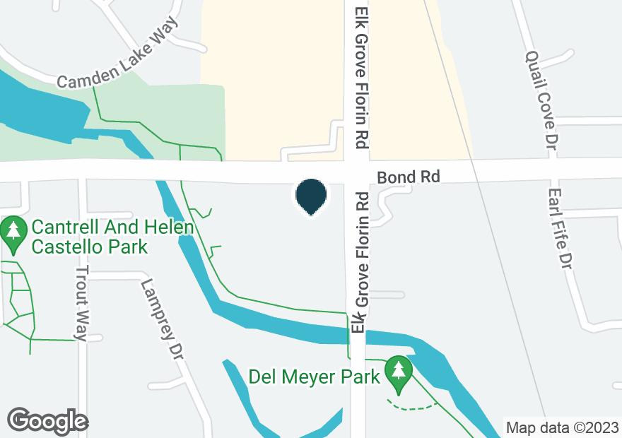 Google Map of9200 ELK GROVE FLORIN RD