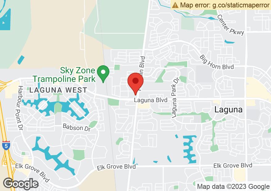 Google Map of 9180 FRANKLIN BLVD