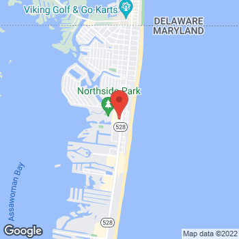 Map of Verizon Authorized Retailer – TCC at 12701 Coastal Hwy, Ocean City, MD 21842