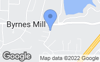 Map of Byrnes Mill, MO