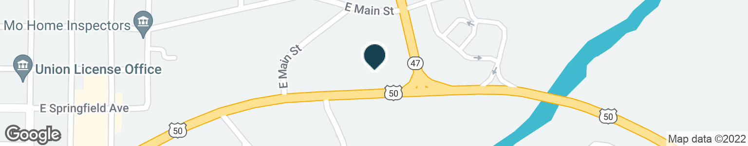 Google Map of807 US HIGHWAY 50 E