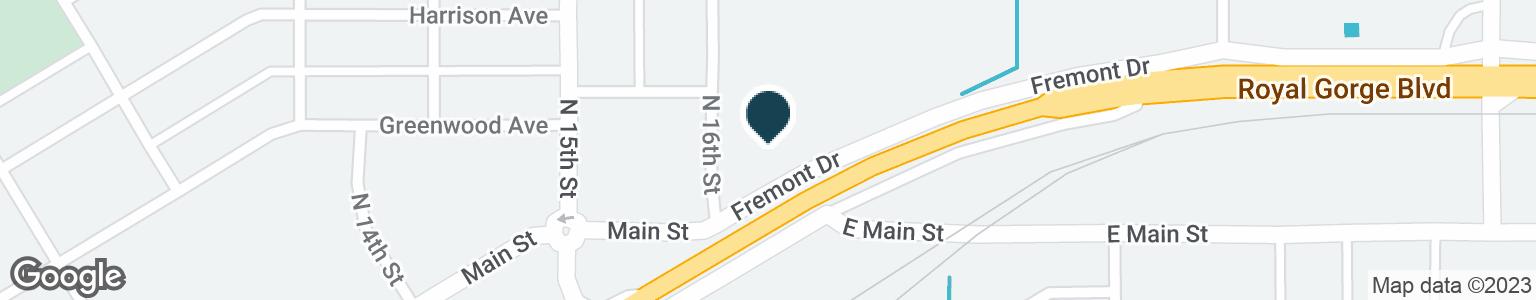 Google Map of1609 FREMONT DR