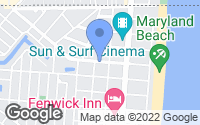 Map of Ocean City, MD