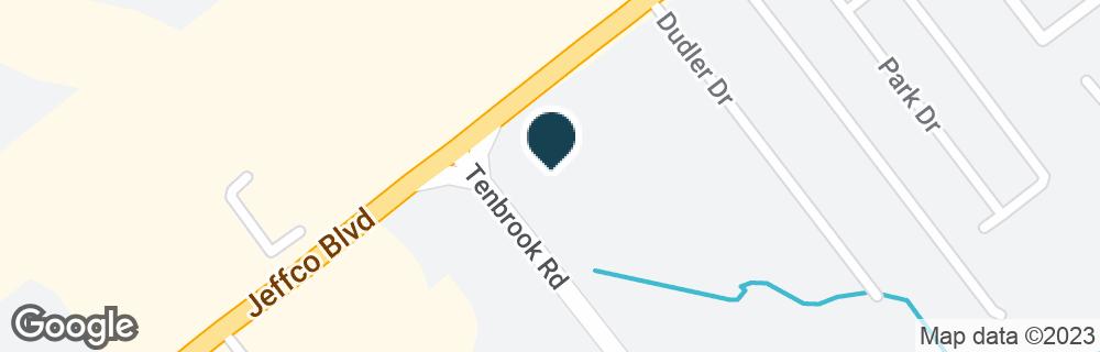 Google Map of776 JEFFCO BLVD