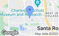 Map of Santa Rosa, CA