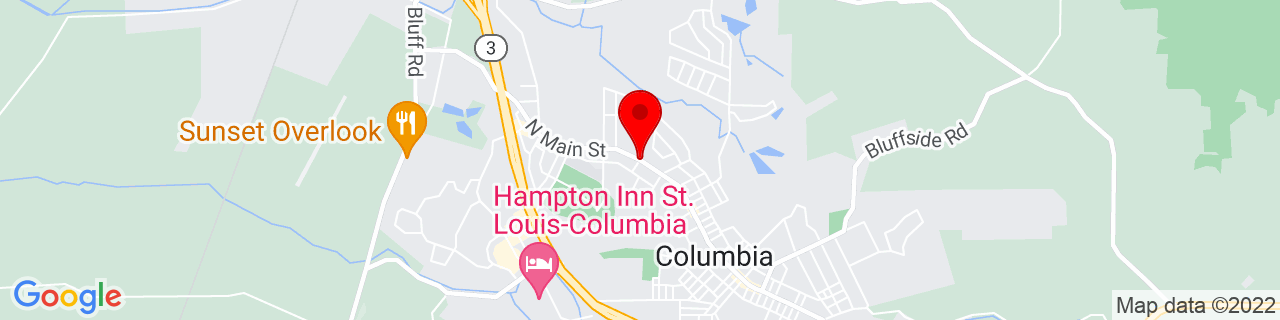 Google Map of 38.4510382, -90.208781