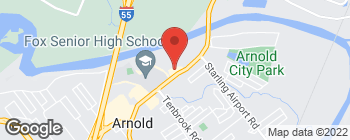 Map of 681 Jeffco Blvd in Arnold