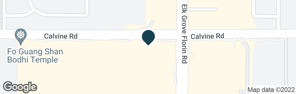 Google Map of8400 ELK GROVE FLORIN RD