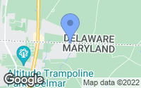 Map of Delmar, MD