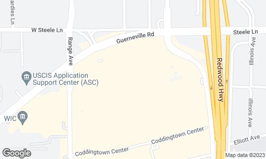 Map of BJ's Restaurant & Brewhouse at 334 Coddingtown Ctr Santa Rosa, CA