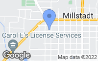 Map of Millstadt, IL