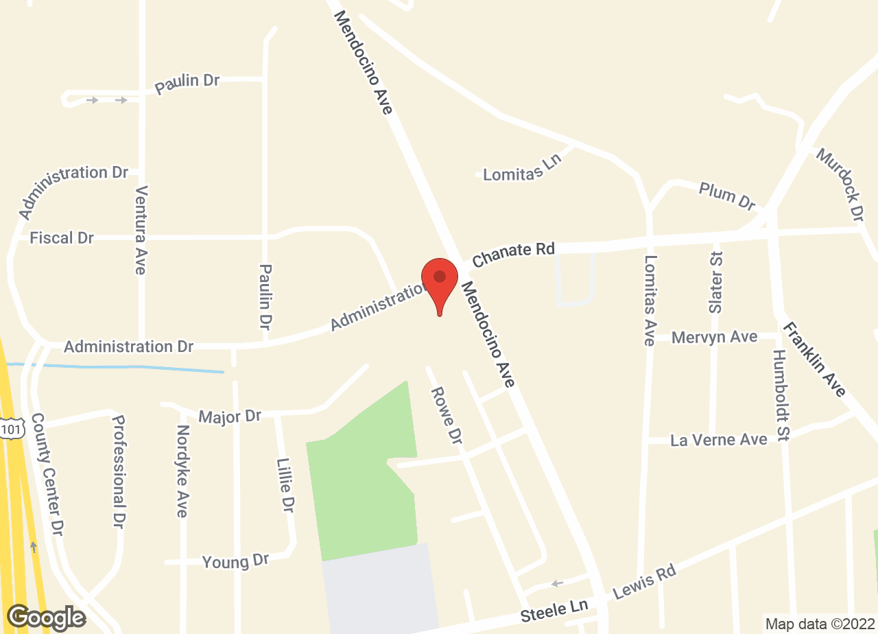 Google Map of VCA PetCare East Veterinary Hospital