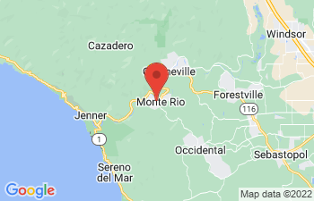 Map of Monte Rio