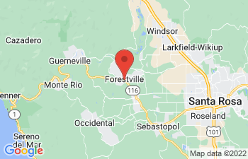 Map of Forestville