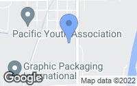 Map of Pacific, MO
