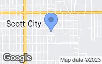 Map of Scott City, KS