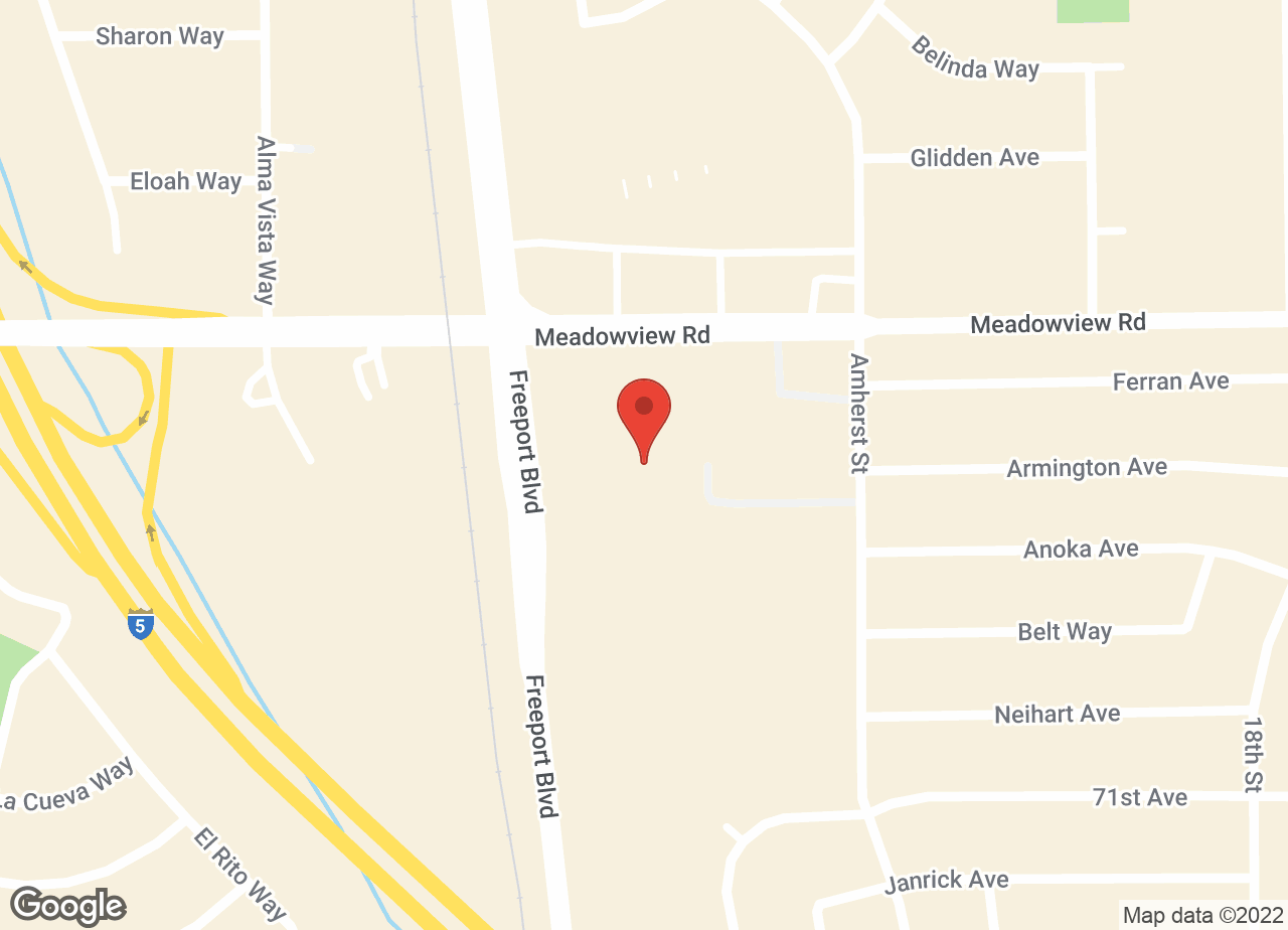 Google Map of VCA Mueller Pet Medical Center & The Pet Inn