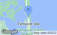 Map of Fenwick Island, DE