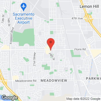 Map of Check `n Go Florin Road at 2400 Florin Road, Sacramento, CA 95822