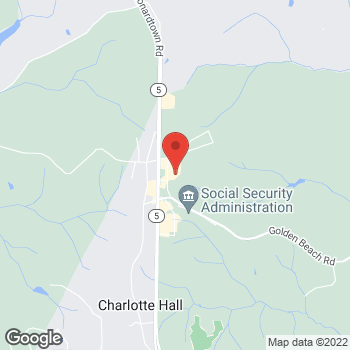 Map of Hair Cuttery at 30320 Triangle Drive, Charlotte Hall, MD 20622