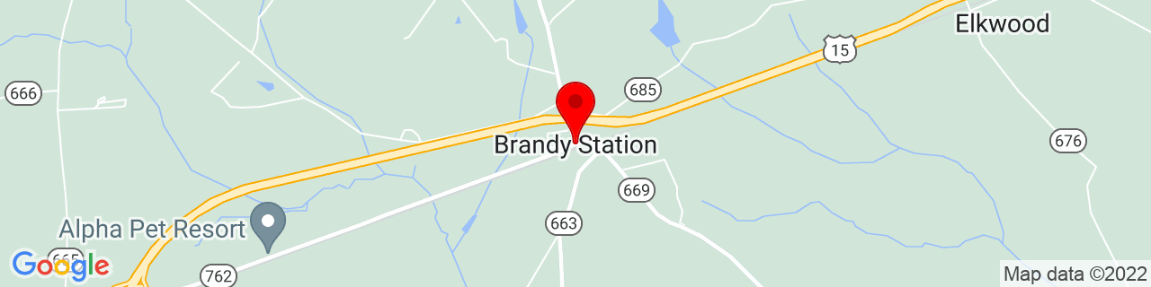 Google Map of 38.5017919, -77.8936061