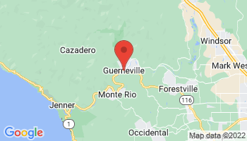 Map of Guerneville