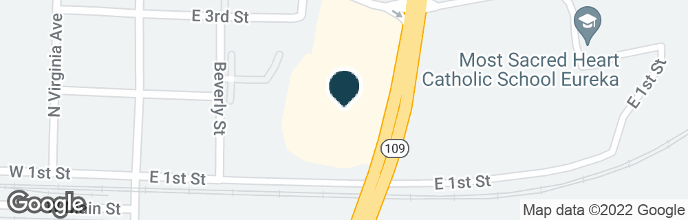 Google Map of250 E 4TH ST