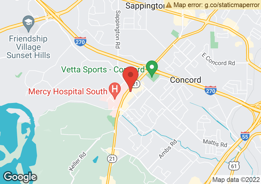 Google Map of 9978 KENNERLY RD