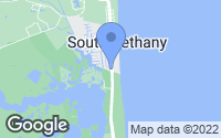 Map of South Bethany, DE