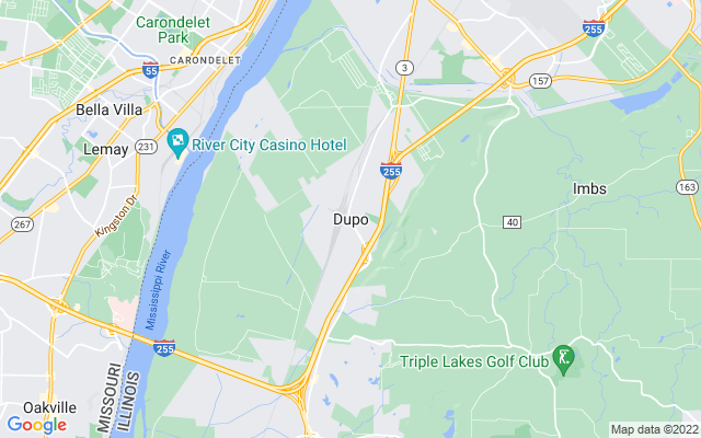 Dupo on the map