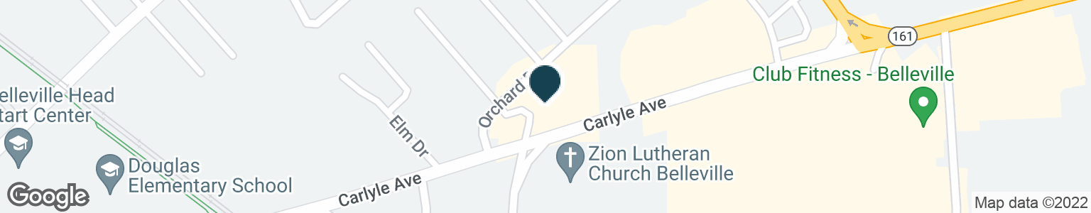 Google Map of515 CARLYLE AVE