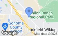 Map of Santa Rosa, CA