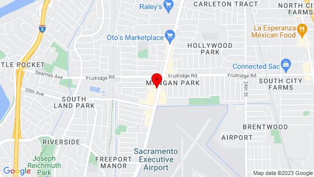 Google Map of 5770 Freeport Blvd., Sacramento, CA 95822