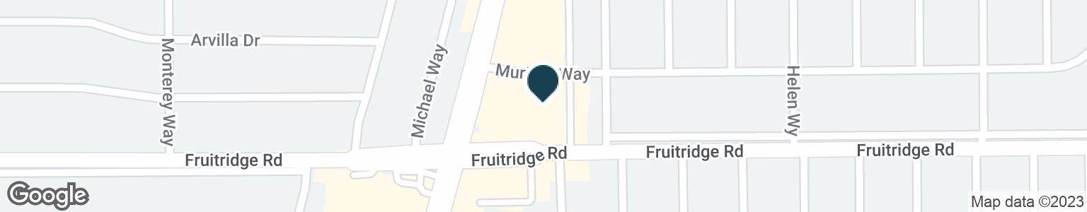 Google Map of1919 FRUITRIDGE RD