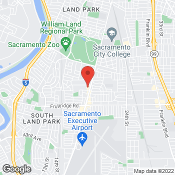 Map of Rite Aid at 4980 Freeport Boulevard, Sacramento, CA 95822